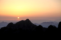 "Huang Shan-""Sunrise over Sea of Clouds"""